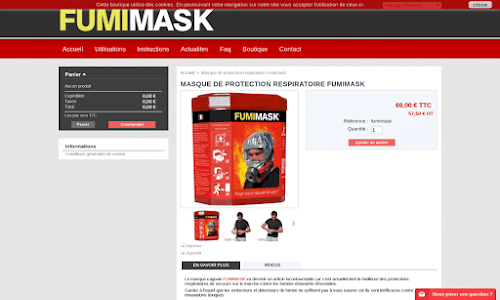 Fumimask Protection et défense