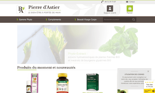Pierre d'Astier Cosmétique