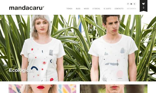 Mandacaru: coton bio et commerce équitable tee-shirt