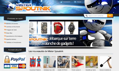 Mister Spoutnik Cadeaux