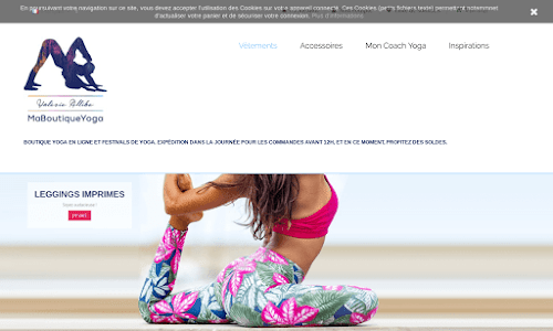 Ma boutique de Yoga
