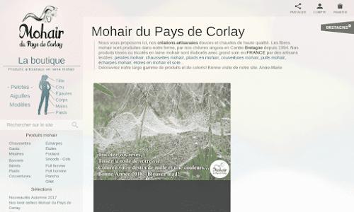 Mohair du Pays de Corlay Accessoires de mode