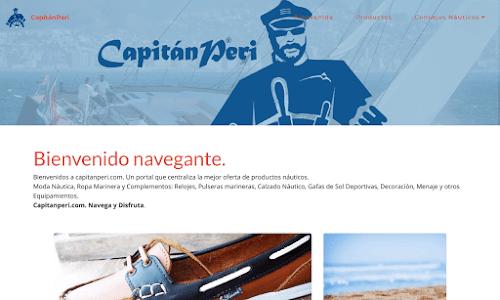 Tienda Náutica - Capitán Peri
