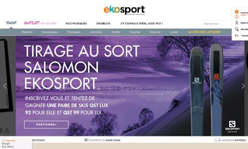 Ekosport Matériel