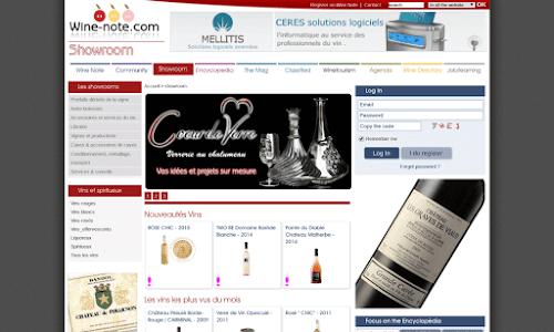 Wine Note Alcool, vin et spiritueux