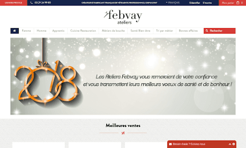 Febvay, vêtements et uniformes professionnels Vêtement de travail