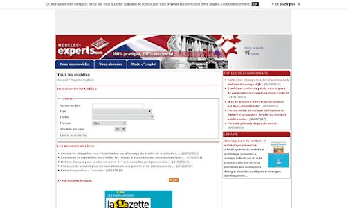 Modèles de documents administratifs