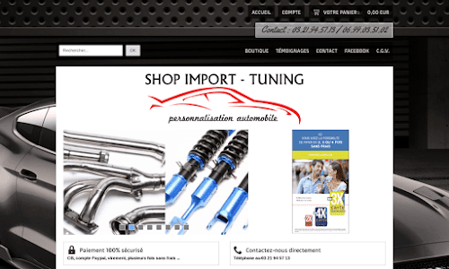 Shop Import Tuning