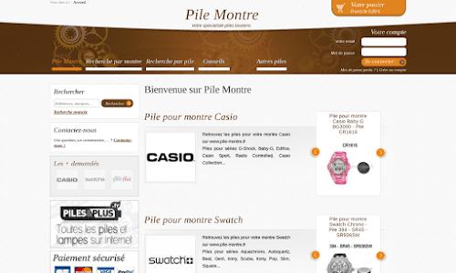 Pile Montre