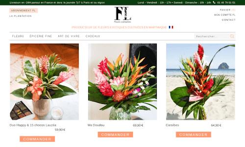Livraison de fleurs exotiques