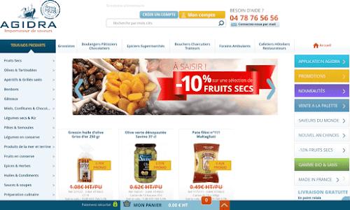 AGIDRA importateur de saveurs Alimentation