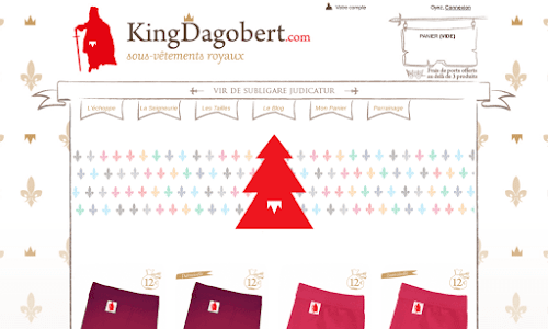 King Dagobert Lingerie masculine