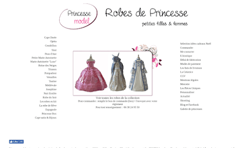 Princesse model Costumes & déguisements