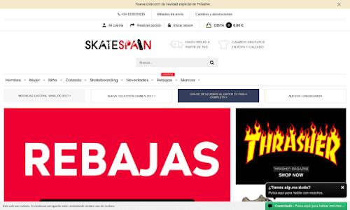 SkateSpain Online Shop Ropa y Moda