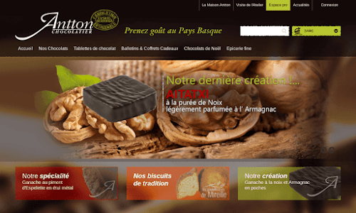 Chocolaterie Artisanale Basque Antton Confiserie et chocolat