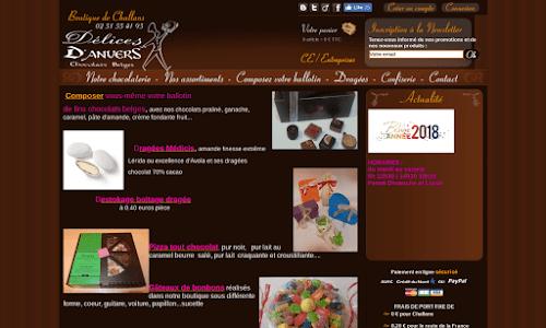 Délices d'Anvers : Chocolats Belges Dragées