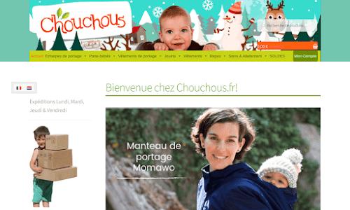 Chouchous, Echarpes porte-bébés et vêtements tendances & bio