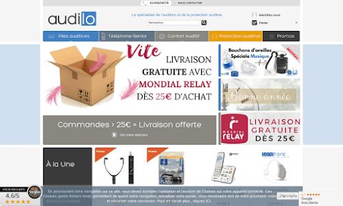Audilo, produits pour l'audition Parapharmacie