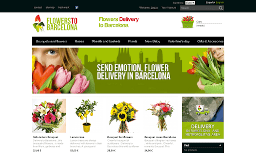 Flowers to Barcelona Flores