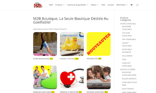 M2B Gonflable Boutique