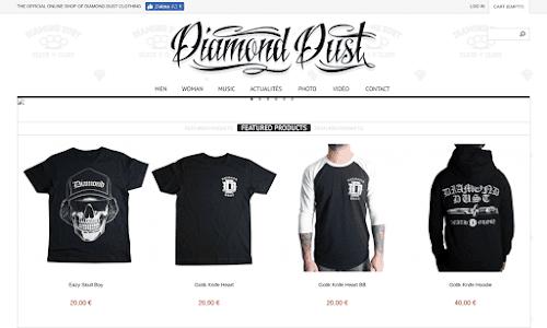 Diamond Dust Shop Online Prêt-à-porter