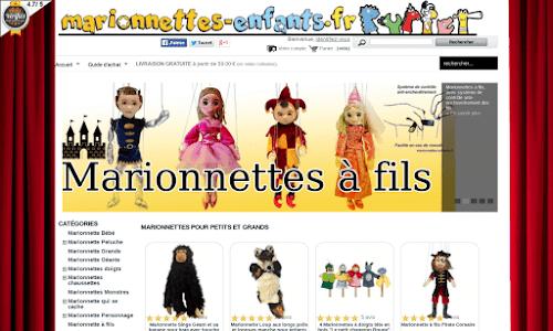 Marionnettes Enfants