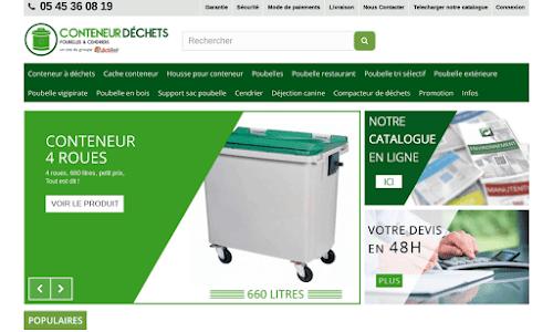 Conteneurs déchets Fourniture et mobilier