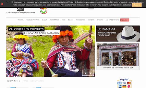 Artisanat et art sud américain Art
