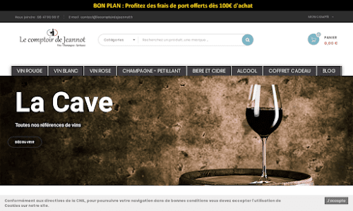 Le comptoir de Jeannot Alcool, vin et spiritueux