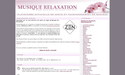 Musique de Relaxation My Music Shop