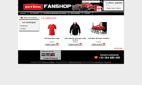 Fan Shop Quivogne