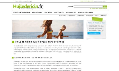 Huiledericin Produit biologique