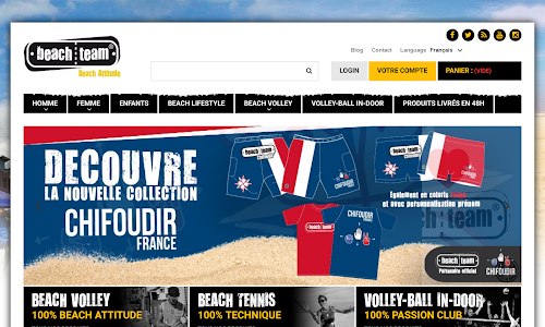 BeachTeam Vêtement