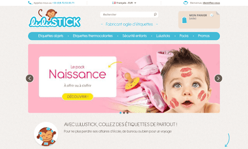 Lulustick Mode Enfant