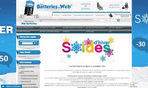 Les piles et batteries du web