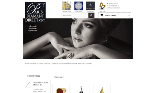 Joaillerie Bijouterie Paris Diamant direct