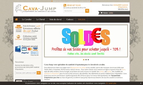 Cava Jump Matériel