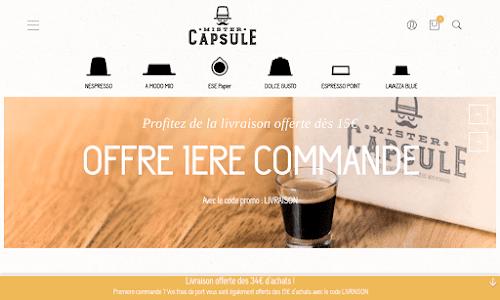 Mister Capsule Café et thé