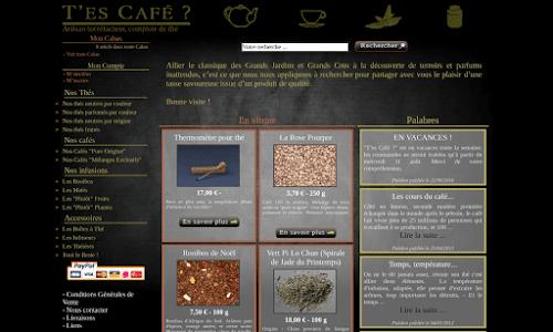 T'es Café ? Café et thé