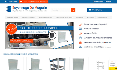 Rayonnage De Magasin