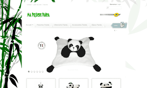 Ma peluche Panda Cadeaux