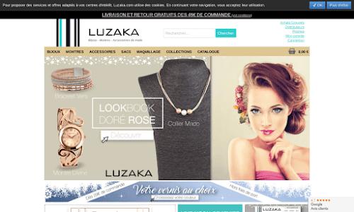 LUZAKA : montres et bijoux fantaisie à petits prix ! Bijoux