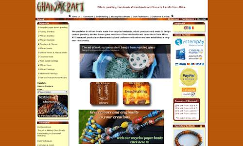 Ghanacraft Produits régionaux