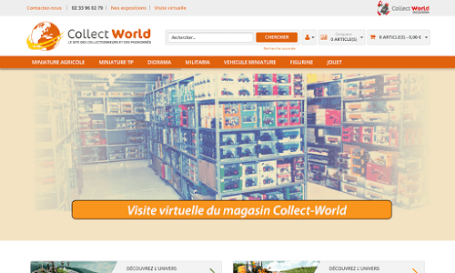 Collect World Collection et miniature