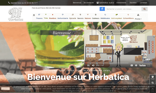 Herboristerie en ligne : Herbatica Alimentation bio et diététique