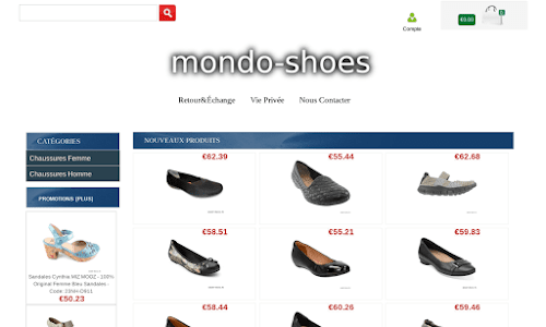 Mondo Shoes Chaussures