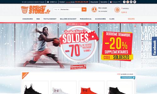 Basket Store Vêtement