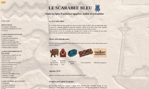 Le Scarabée Bleu Cadeaux