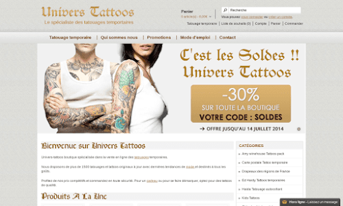 Univers Tattoos