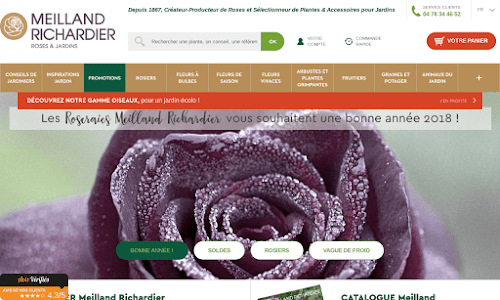 Roseraies meilland richardier boutique en ligne for Boutique jardinage en ligne